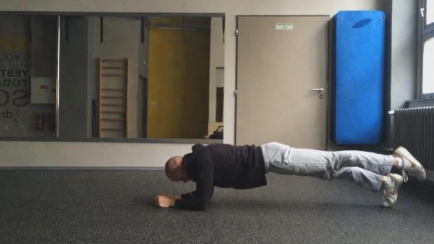 Plank 1 leg